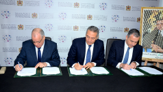 Signature de conventions d'investissements industriels (Fonds Hassan II)