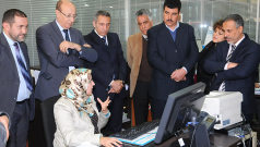 Organisation d'une visite à l'OMPIC au profit de la Commission parlementaire des secteurs productifs, au sujet de la nouvelle loi n° 23-13 complétant la législation relative à la protection de la propriété industrielle, le 08 jan. 2014