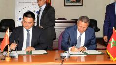 Signature d'un mémorandum d'entente entre le Ministère et le chinois Shandong Shangang Group à Rabat, le 22 juillet 2014